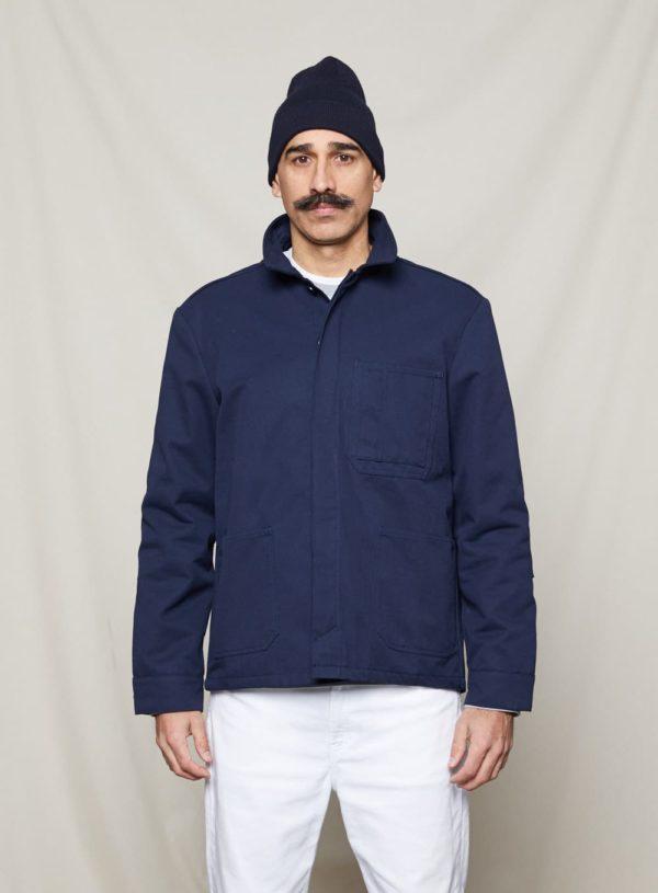 navy worker jacket