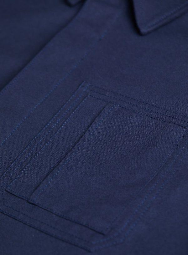 navy worker jacket pocket