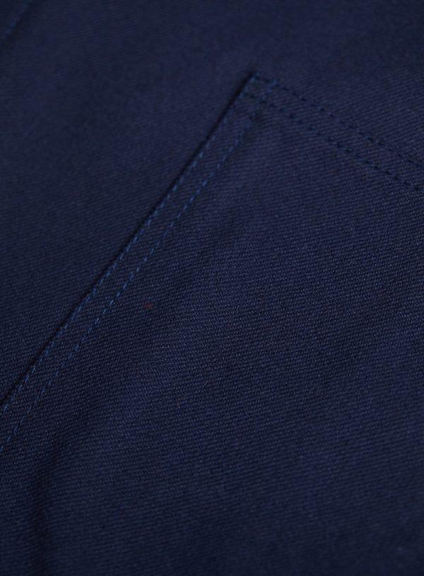 navy worker jacket fabric